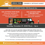Drive-Thru Farmers and Artisans Market at Mission Marquee Plaza