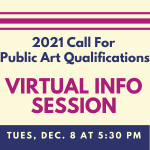 Virtual Information Session - 2021 Call for Public...