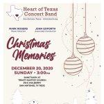 "Heart of Texas Concert Band- ""Christmas Memories"""