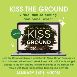 Virtual Screening of Kiss The Ground & Panel Event with Local Regenerative Leaders