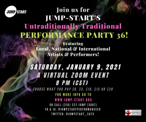Performance Party XXX6: Traditionally Untraditional