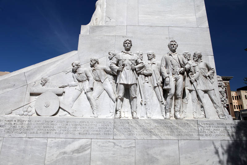 Spirit of Sacrifice (The Alamo Cenotaph)
