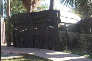 River Walk Park (SAWS water pump # 2 enclosure)