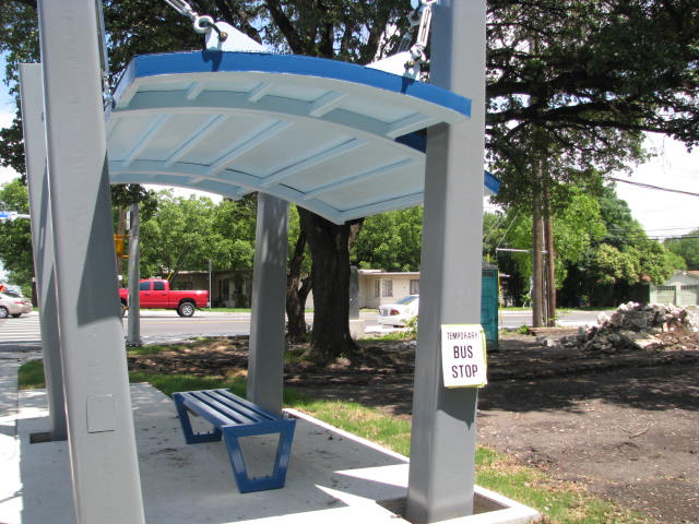 Woodlawn Avenue Bus Shelter