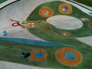 Nani Falcone Skate Park Mural