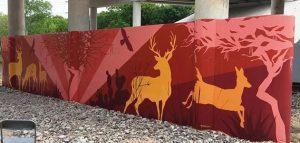 Fall, Mesquite, Deer