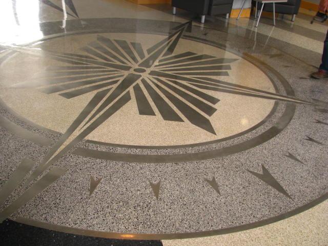 Stinson Airport Compass