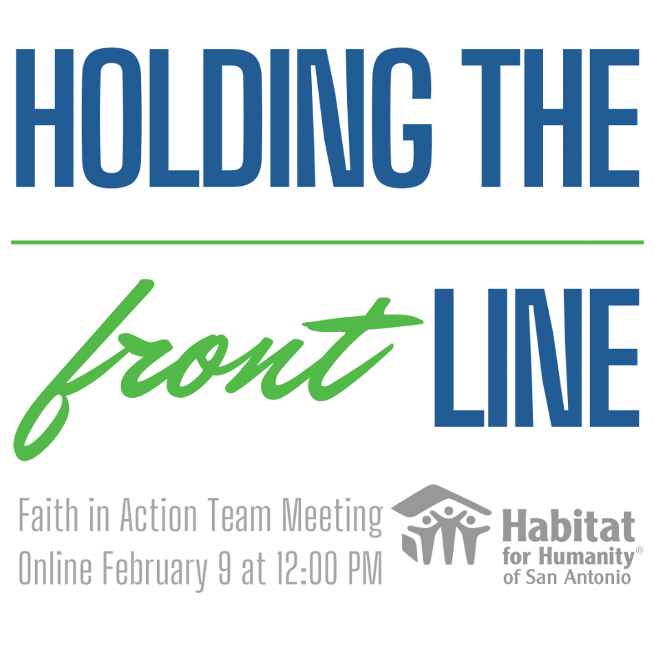 Faith In Action Team (FIAT) - HOLDING THE frontLIN...