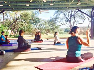 """Yoga with a View"" at Hyatt Regency Hill Count..."