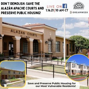 Don't Demolish: Save the Alazán Apache Courts and Preserve Public Housing!