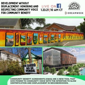 """""""Development Without Displacement: Honoring and Respecting Community Voice for Community Benefit!"""""""