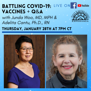 Battling Covid-19: Vaccines + Q & A