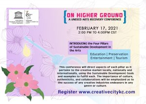 On Higher Ground | A UNESCO Arts Recovery Conference