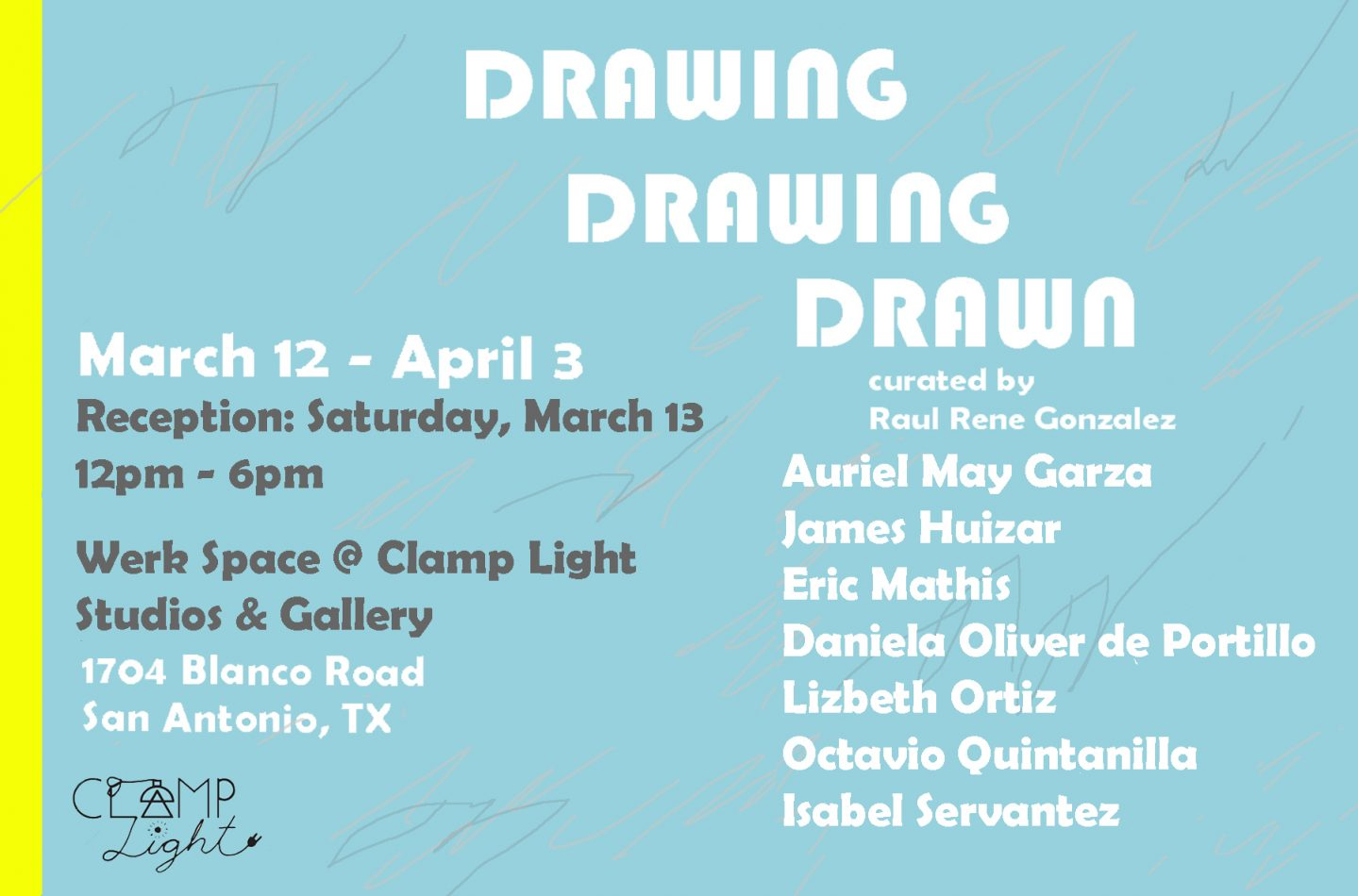 Public Reception for Drawing, Drawing, Drawn