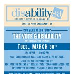 Conversation 360: The Vote & Disability