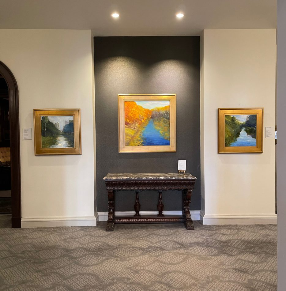 Local Artist Exhibits At The St. Anthony Hotel + F...
