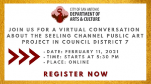 Virtual Conversation: Seeling Channel Public Art Project in Council District 7