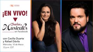 """""""Charlas Musicales"""" with Cecilia Duarte and Rafael Davila"""