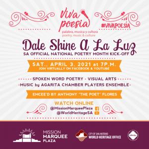 VIVA Poesía: Palabra, Musica, y Cultura