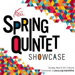 YOSA Spring Quintet Showcase