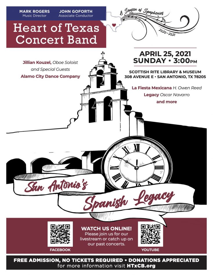 Heart of Texas Concert Band- San Antonio's Spani...