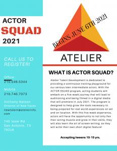 Actor Squad 2021