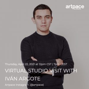Virtual Studio Visit with Iván Argote