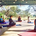 """Yoga with a View"" at Hyatt Regency Hill Country"