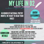 My Life in D2 Poetry Contest
