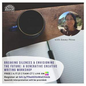 Breaking Silences & Envisioning the Future: A Generative Creative Writing Workshop