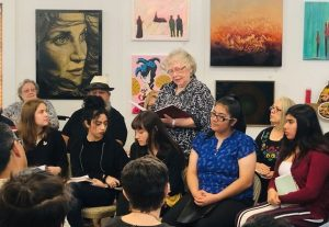 5th Annual Inter-Generational Reading of Bihl Haus Goldens and Young Poets Society of YWLA