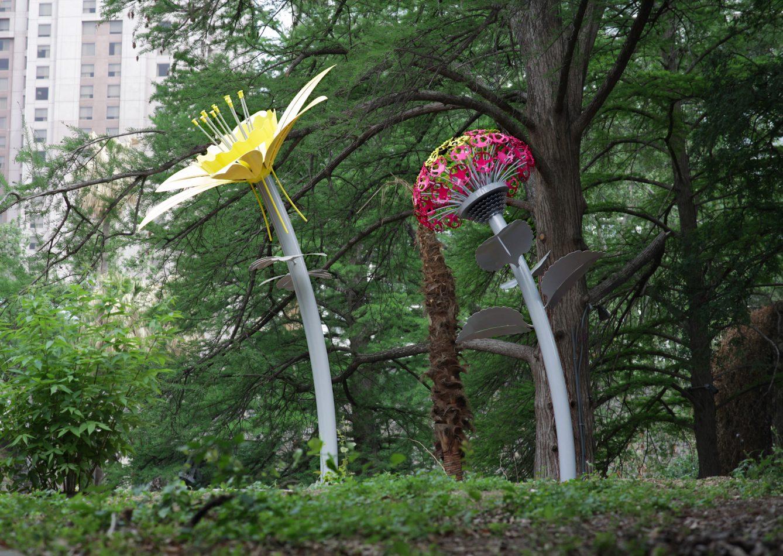 Bloom at the River Walk Public Art Garden