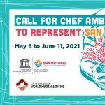 Call for Chef Ambassadors to represent San Antonio...