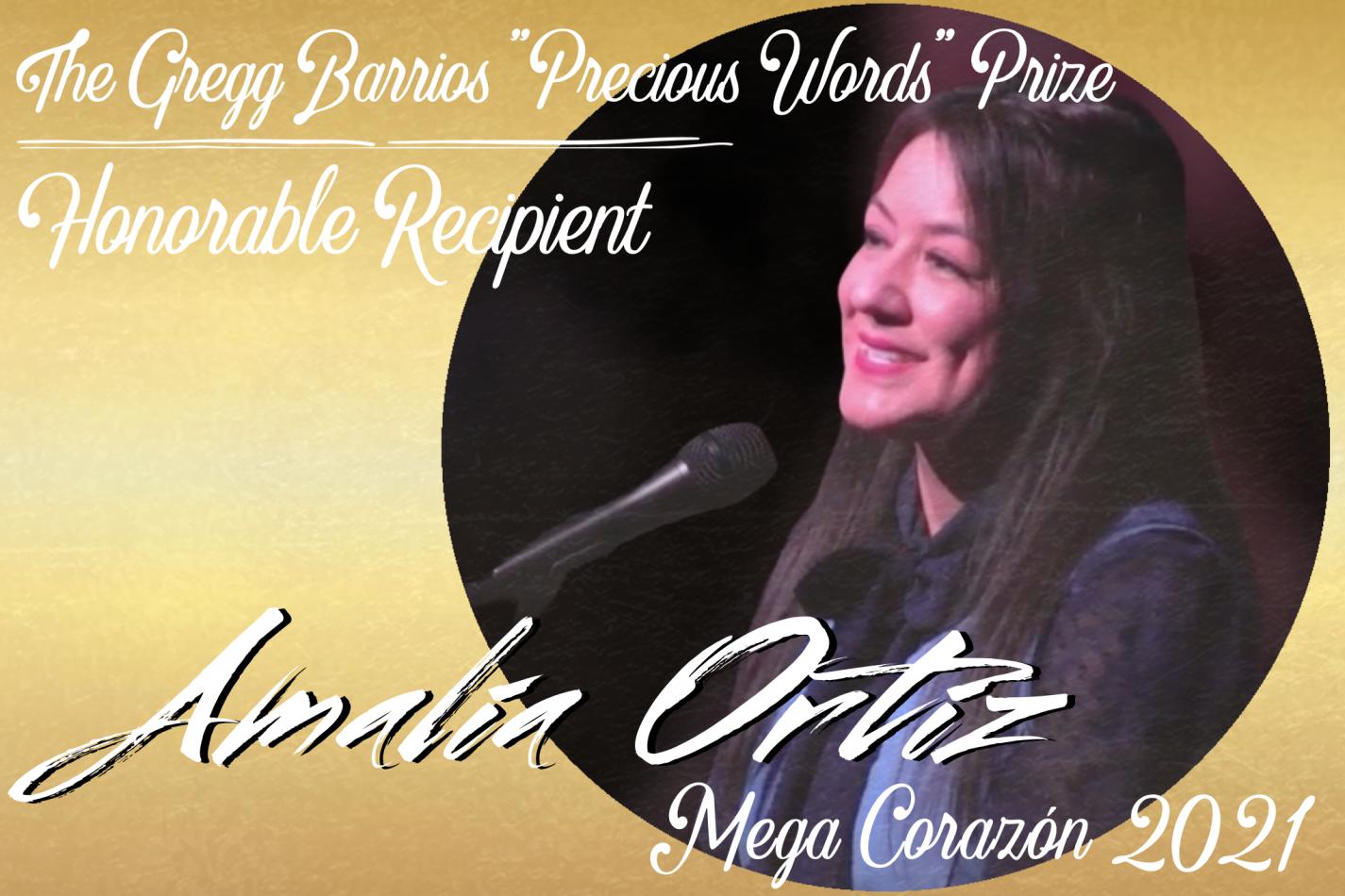 "The Gregg Barrios ""Precious Words"" Prize Awards Ce..."
