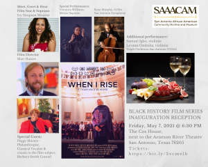 Black History Film Series Inauguration Fundraiser Reception