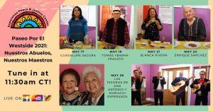 Paseo Por El Westside 2021: Nuestros Abuelos, Nuestros Maestros