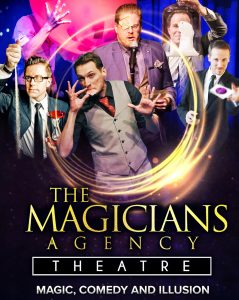 Magic and Comedy at The Magician Agency Theatre.