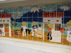 Maverick Tile Mural
