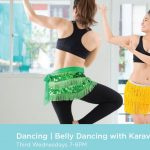 Wellness at the Tobin   Belly Dancing with Karavan Studios