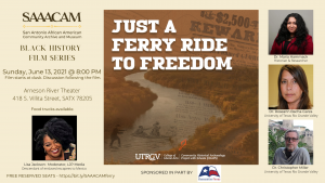 Black History Film Series: Just A Ferry Ride to Freedom - RESCHEDULED
