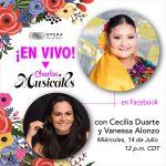 Charlas Musicales con Cecilia Duarte y Vanessa Alonzo