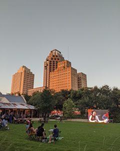 Projection/Projektion Legacy Park Screening