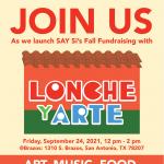 SAY Sí Presents Lonche y Arte