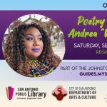 "Poetry Workshop with Andrea ""Vocab"" Sanderson"