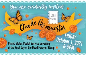 Day of the Dead Stamp Unveiling by the United Stat...