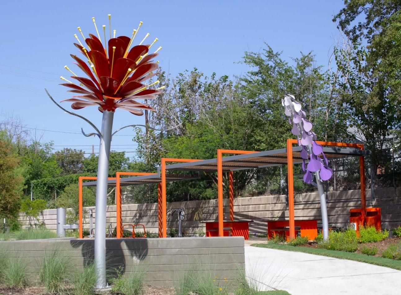 Bloom at Brazos Pocket Park