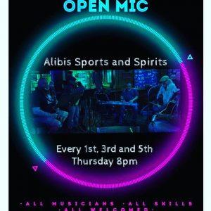 Eastside Community Music Circle open mic at Alibis...