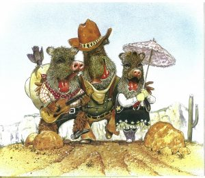 The Three Javelinas