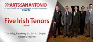 ARTS San Antonio presents The Five Irish Tenors