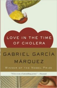 Monthly Book Club – Love in the Time of Cholera by Gabriel García Márquez